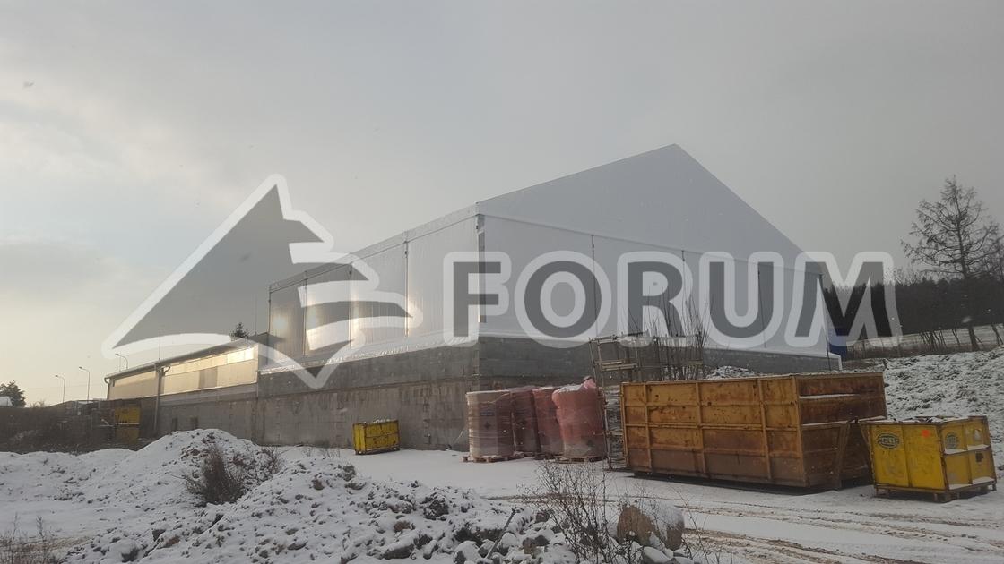 Rozšírenie výroby stanovou halou