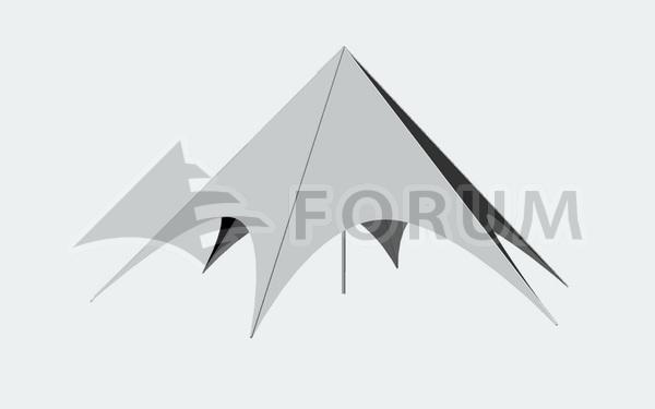 Prenájom párty stanov Forum Delta
